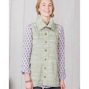 Matilda Jane | Green Out the Door Vest sz S